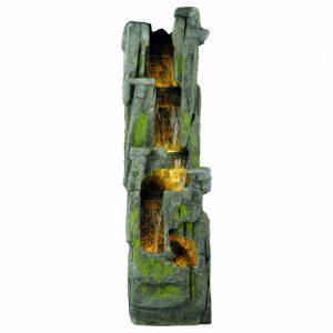 Kaemingk - LED 5 Tier Rock Fountain