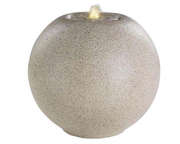 Kaemingk - LED Granite Ball Fountain White
