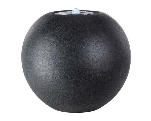 Kaemingk - LED Granite Ball Fountain Black