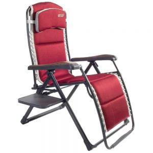 Quest Leisure Bordeaux Pro Relax XL chair with side table
