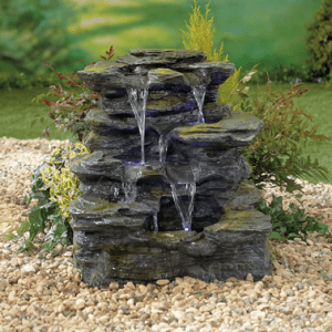 Como Springs inc LED's Water Feature