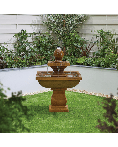 Kelkay Odyssey with lights Solar Powered Water Feature