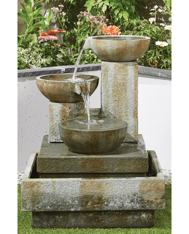 Kelkay Patina Bowls Water Feature