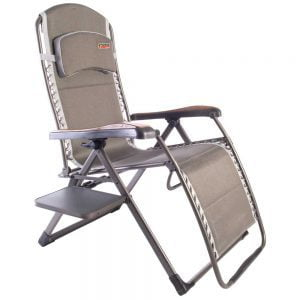 Quest Leisure Naples Pro Relax XL chair with table